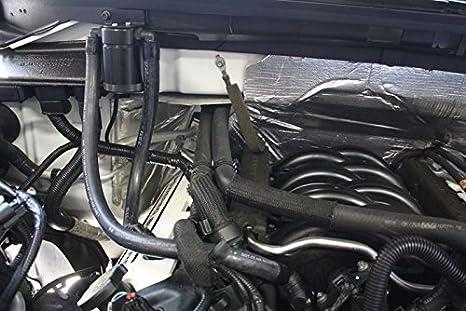 2011 - 2017 Ford F150 5.0/6,2/3.5eb/2.7eb JLT lado del pasajero separador de aceite, color negro: Amazon.es: Coche y moto
