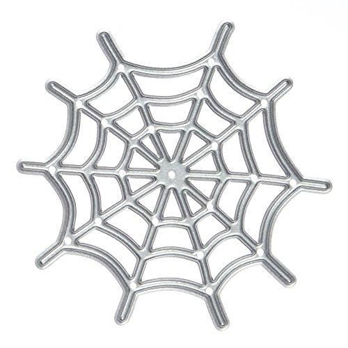 Whitelotous Cutting Dies Cut Dies Stencil Metal Template Mould for DIY Scrapbook Album Paper Card (Spider (Shots For Halloween)