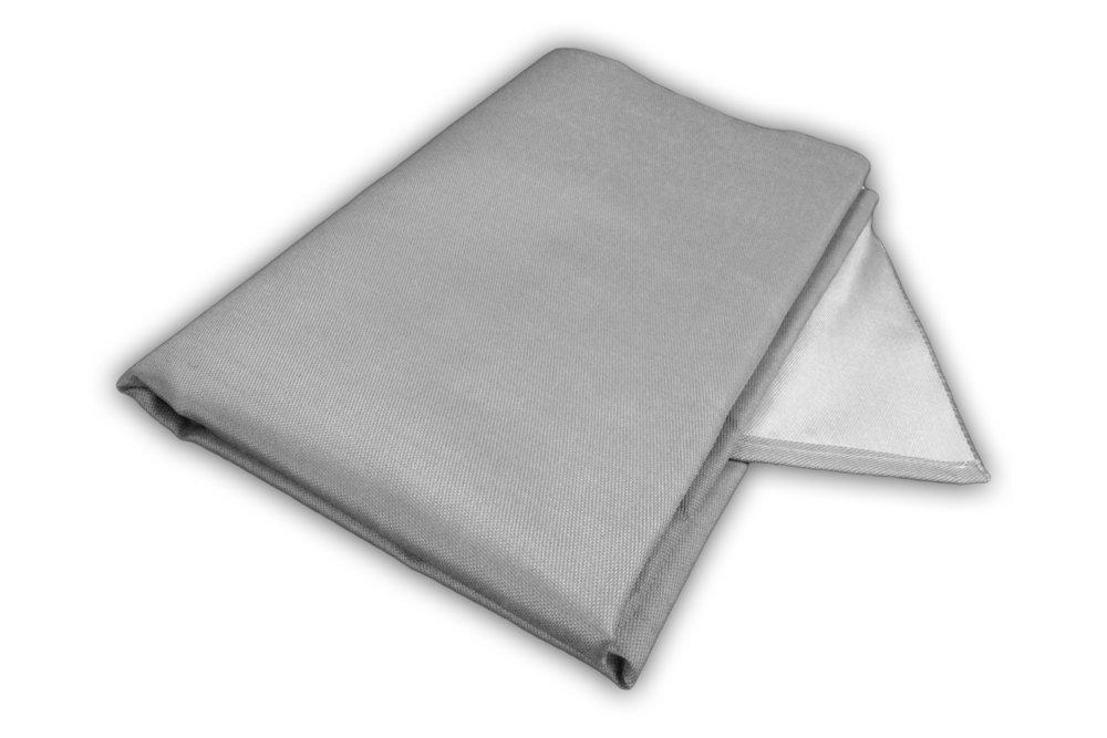 Tapis de Protection de Sol r/ésistant /à la Chaleur Zettl Plafond de Protection de Plancher jusqu/à 550/°C appropri/é comme Base Ignifuge pour chemin/ée Taille Environ 1m x 1m Tapis de Grill