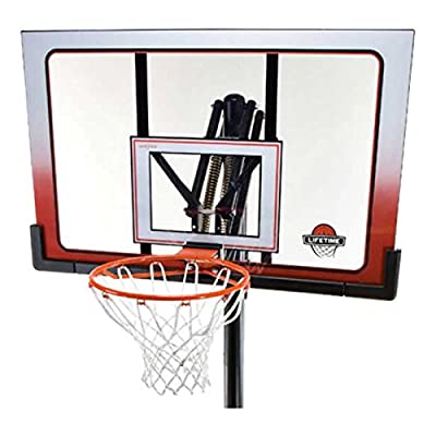 Lifetime 52 Inch Portable Basketball Hoop System | Computers