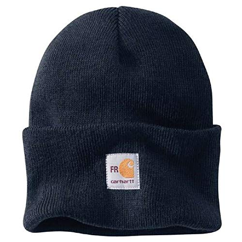 Carhartt Men's FR Knit Watch Hat, Dark Navy, OFA