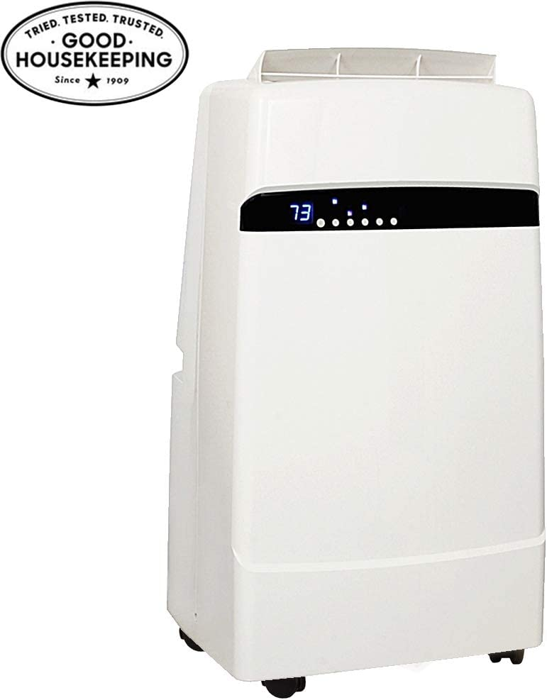 Whynter ARC-12SDH 12,000 BTU Dual Hose Portable Air Conditioner and Heater, Dehumidifier, Fan with Activated Carbon Filter plus Storage bag for Rooms up to 400 sq ft,Multi