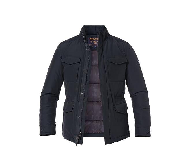Woolrich - Chaqueta Impermeable - para Hombre Dark Navy Blue ...