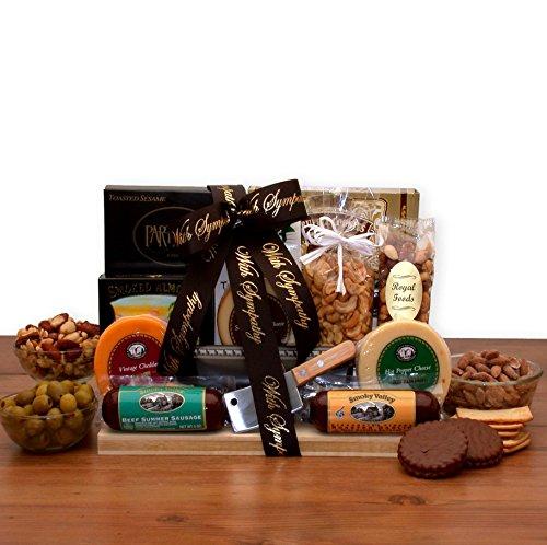 Deepest Sympathy Gift Basket - Bereavement Gift With Our Deepest Sympathy Gourmet Gift