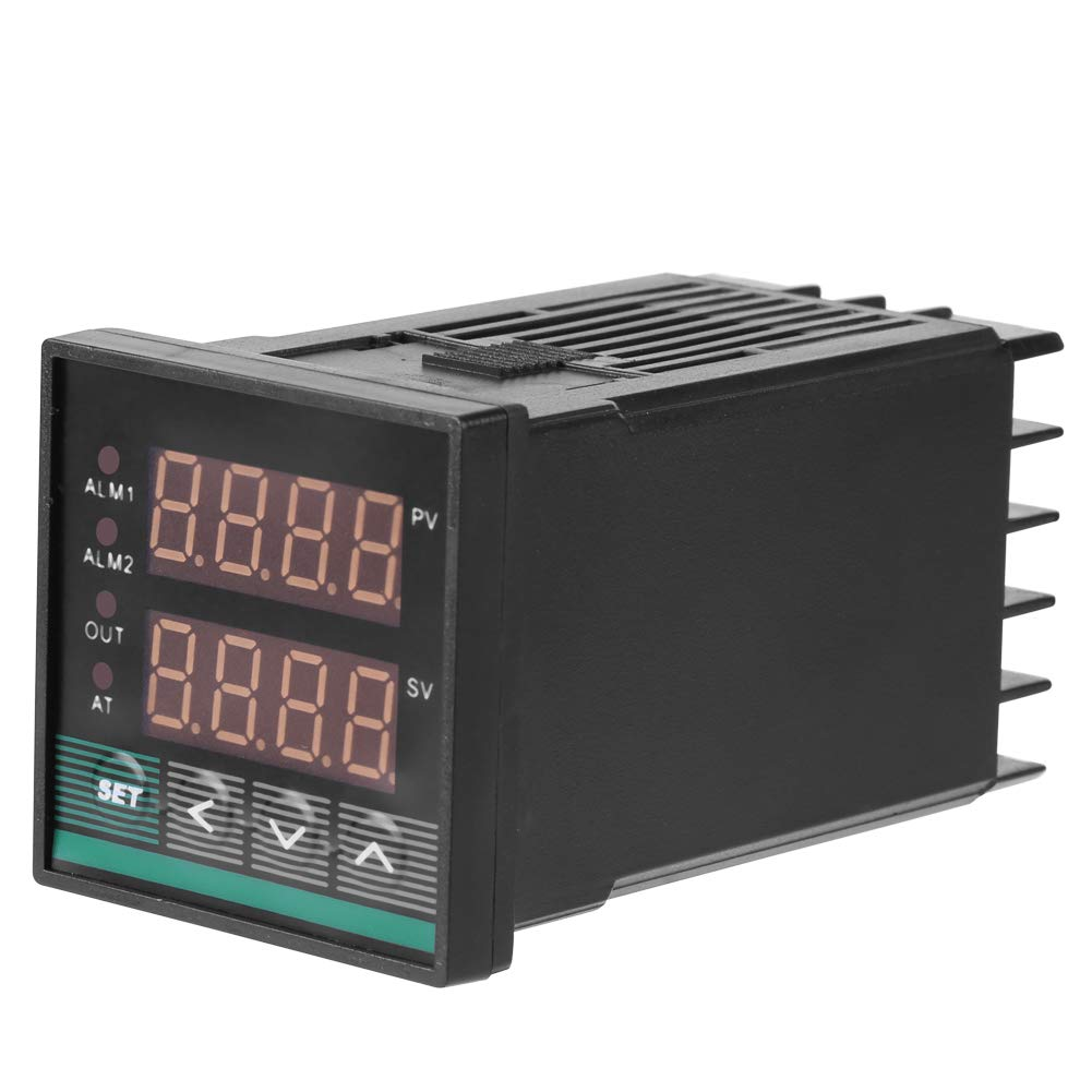 Digital Thermostat Digital High Precision Universal PID Temperature Controller with SSR & Alarm Output Operating Temperature: 0℃~50℃