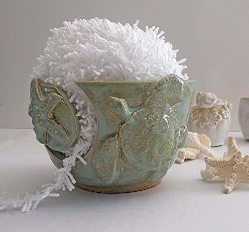 Amazon Com 6 Quot Sea Turtle Knitting Bowl For Knitting