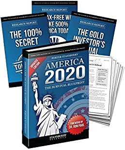 america 2020 the survival blueprint stansberry research dr ron rh amazon com