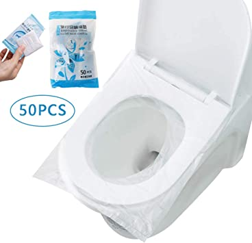 Surplex 50 Pcs Fundas protectoras desechables para inodoro ...