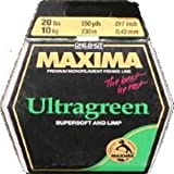 Maxima Fishing Line One Shot Spools, Ultragreen