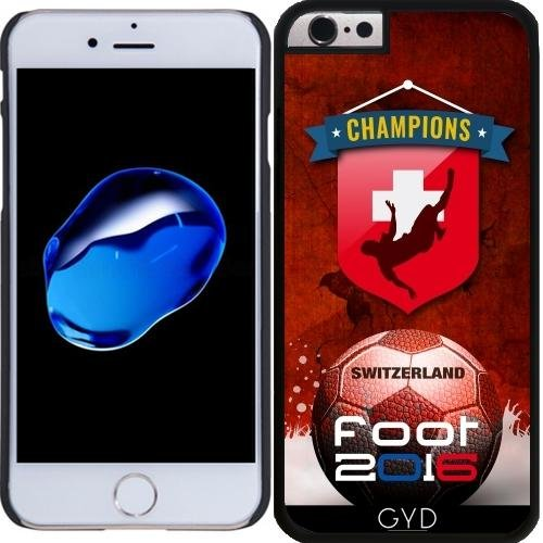 Coque pour Iphone 6 Plus (5,5'') - Pied 2016 Suisse by comlaprom