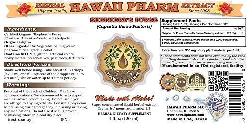 Shepherds-Purse-Liquid-Extract-Organic-Shepherds-Purse-Capsella-Bursa-Pastoris-Tincture-Herbal-Supplement-Hawaii-Pharm-Made-in-USA-32-floz