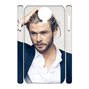 C-EUR Cell phone case Brad Pitt Hard 3D Case For Samsung Galaxy S4 i9500