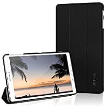 "Galaxy Tab E 9.6 Case, JETech Slim-Fit Lightweight Case Cover for Samsung Galaxy Tab E / Tab E Nook 9.6"" Tablet with Stand Function (Black) - 3603"