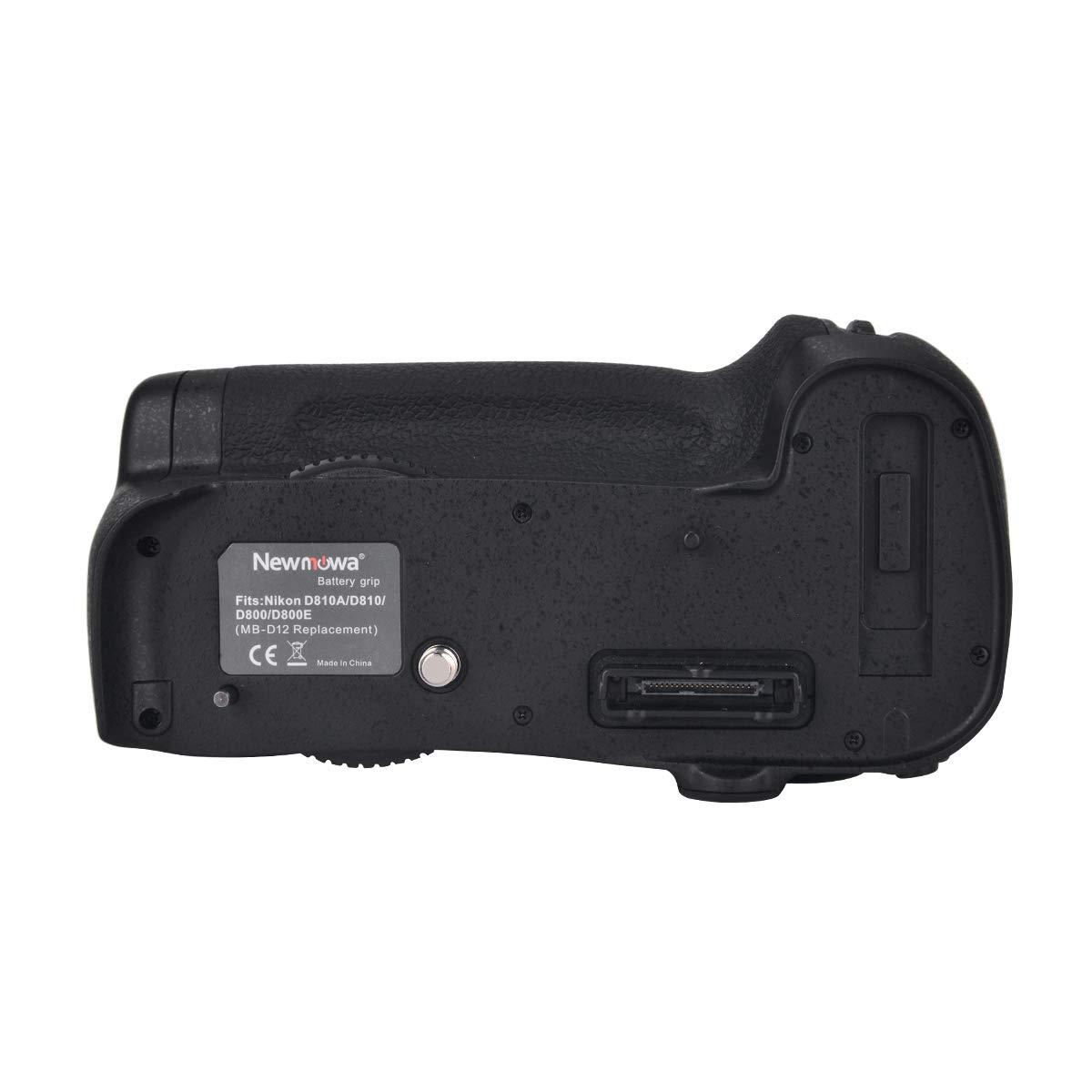 Newmowa Mango de Repuesto Battery Grip para Nikon D800/D800E/D810 ...