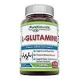 Pure Naturals L-Glutamine 500 Mg, 120 Count