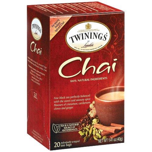 Twinings Chai Tea, 40 Count