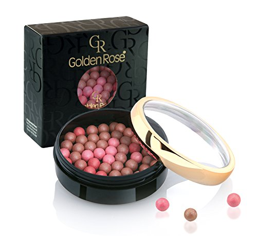 Golden Rose Ball Blusher - Soft & Silky Effect- Peach- #1, 0.95 oz