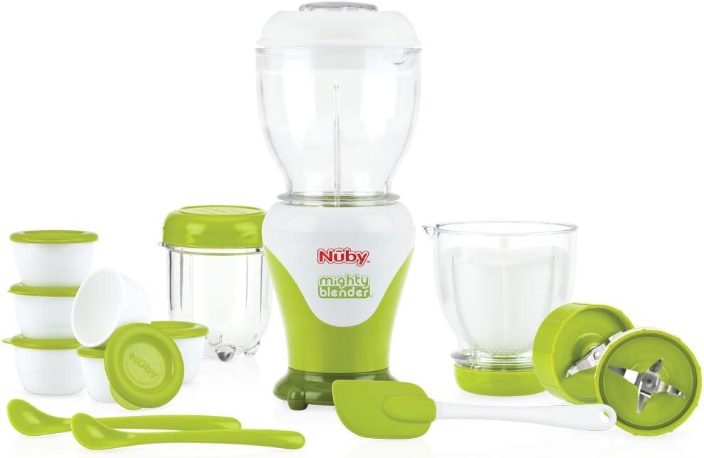 Nuby ID5522 - Set de 18 licuadoras de alimentos: Amazon.es: Bebé