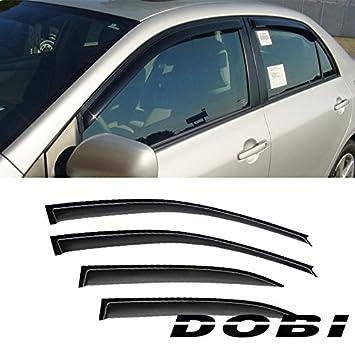 for 90-93 Honda Accord Sedan/&Wagon 4 x Window Visors Rain Guard Shade Deflectors