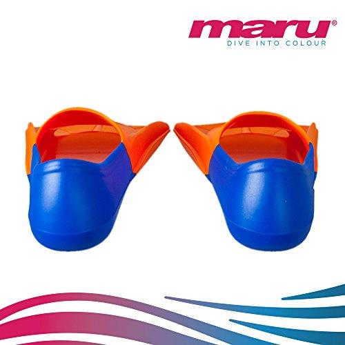6273a8322543 Maru Training Fins (Orange