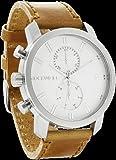 Rockwell Time Men's Apollo Watch, Silver/White