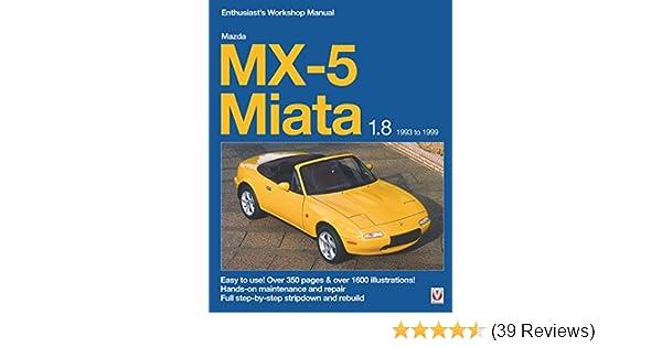 Mazda MX-5 Miata 1.8 1993 to 1999: Enthuasiast Workshop ...