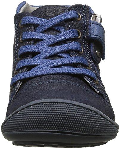 Mod8 Donald - Zapatos de primeros pasos Bebé-Niñas Azul - Bleu (Marine)