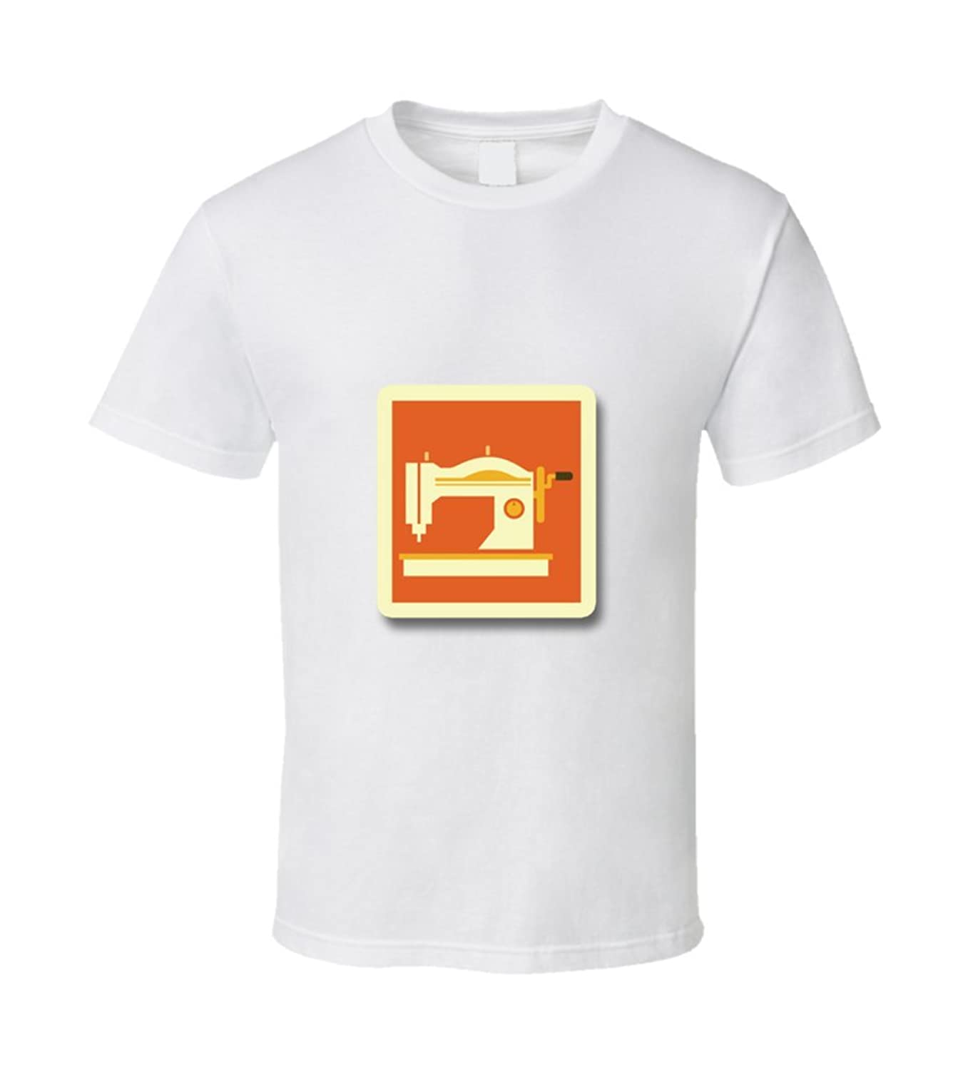 Tiny Flair's Vintage Sewing Machine T Shirt