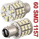 1157 1016 AMPOULE A 60 SMD LED 12V BLANC POUR VEHICULE