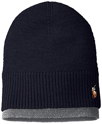 Men's Polo Ralph Lauren Layered Merino Wool Watch Cap Skully ()