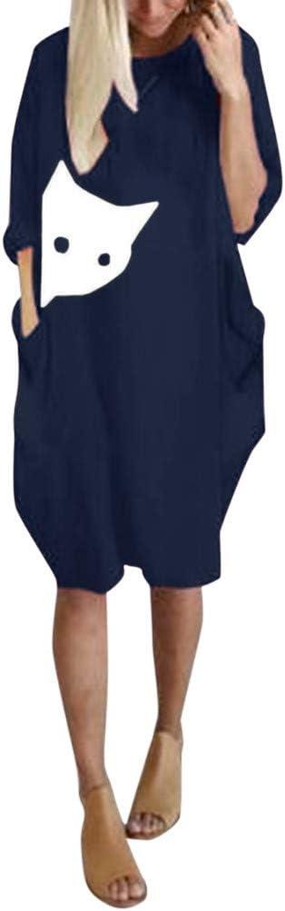 Franterd Pocket Loose Dress...