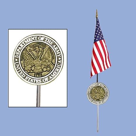 Amazon Us Army Veteran Military Headstone Medallion Grave