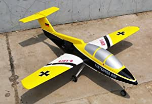 """remote control rc radio control Electric Ducted Fan RC Trainer Plane - Newest EDF-101mm - 51"""" ARF Radio Controlled Airplane (COLOR MAY VARY SENT AT RANDOM) - THIS IS A KIT , SOME ASSEMBLY REQUIRED"""