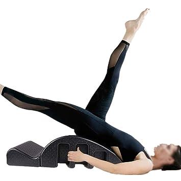Tengyun Black Yoga Spine Corrector, Cama De Masaje Pilates ...