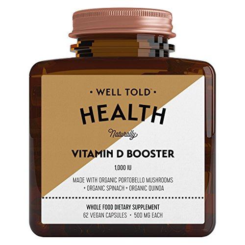 Well Told Health - Organic Vitamin D Booster (62 Vegan Capsules)