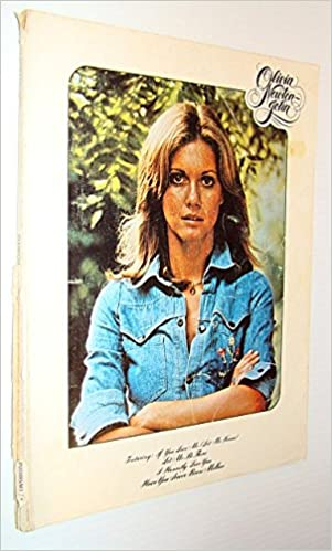 Olivia Newton John Songbook Song Book Sheet Music For Voice And