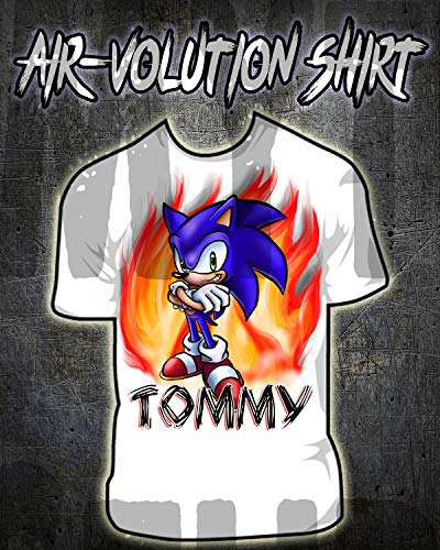 Personalized Airbrush Sonic Boom Shirt