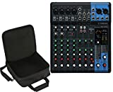 Yamaha MG10XU 10 Channel Mixer w/FX + SKB UB1212 Travel Bag Carry...
