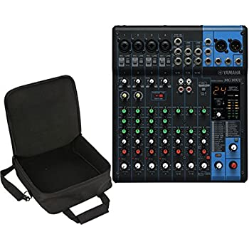 yamaha mg10xu 10 channel mixer w fx skb ub1212 travel bag carry case musical. Black Bedroom Furniture Sets. Home Design Ideas