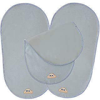 "BlueSnail Waterproof Changing Pad Liners for Babies 3 Count(Gray, 13.3""x26"")"