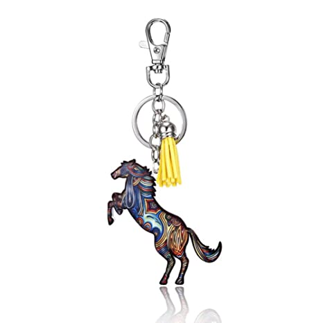 Daliuing Jewelry - Llavero con forma de caballo, portallaves ...