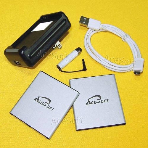 [ Samsung Galaxy J3 Emerge Battery ] 2X 3500mAh Grade A Rechargeable  Battery for Samsung Galaxy J3 Emerge SM-J327P Travel Charger Micro USB  Cable