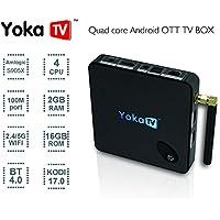 TV Box , Lary Intel Mini Smart TV Player S912 Android 6.0 TV Box Octa-Core 2GB DDR3 + 16GB WiFi HD HDMI Media Player Tv Box IR Remote