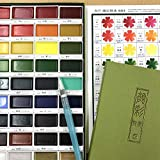 Kuretake GANSAI TAMBI Watercolor 36 Colors