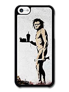 AMAF ? Accessories Banksy Fast Food Case for iPhone 5C Street Art