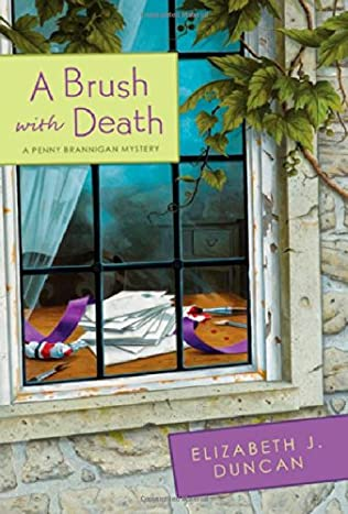 book cover of A Brush with Death