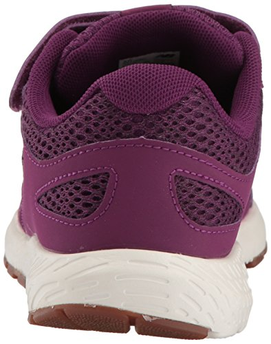 New Balance Girls' 519v1 Hook and Loop Running Shoe, Imperial/Phantom, 2 M US Infant by New Balance (Image #2)