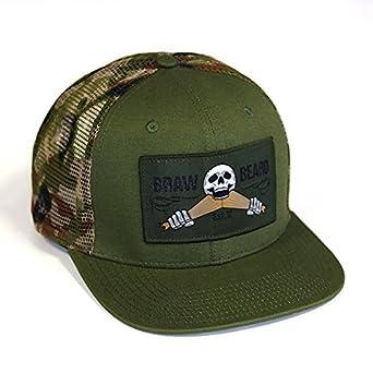 69900bcf Braw Beard Oils Camo Snapback - Camouflage - Adjustable Baseball Cap:  Amazon.co.uk: Clothing