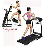 Keland (US STOCK) Small Treadmill, Portable Folding Mini Treadmill Compact Treadmill Running Machine For Home Use