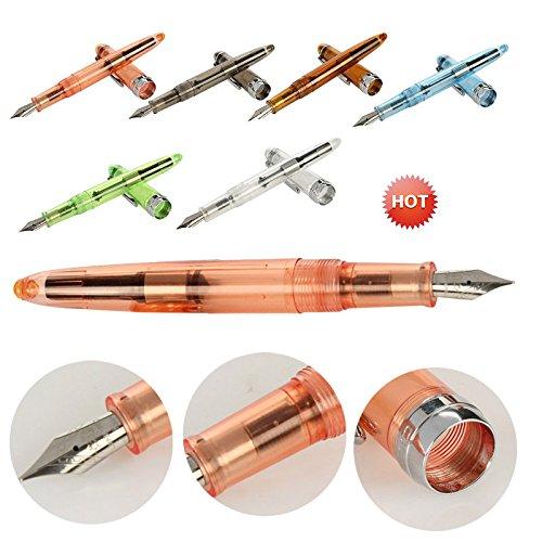 Amazon.com: Fan-Ling - 1 pluma estilográfica transparente de ...